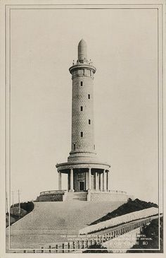 Japanese War Memorial on White Jade Hill, Lüshun, c1930