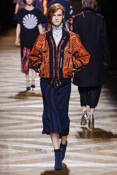 That jacket!! Dries Van Noten Fall 2014
