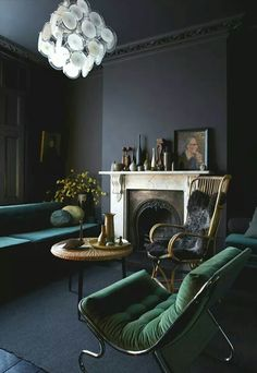 A very moody room