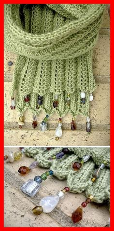 Beautiful Knitting Scarf Free Knitting Pattern Learn the basics of how to crochet, starting at the v Shawl Crochet, Bonnet Crochet, Crochet Scarves, Knit Crochet, Crochet Hats, Knitting Scarves, Knitted Baby, Knitted Shawls, Crochet Clothes