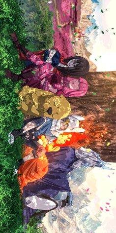 Adventure Time x Anime Watercolor Wallpaper Iphone, Iphone Wallpaper Glitter, Fall Wallpaper, Cartoon Wallpaper, Cartoon As Anime, Cartoon Art, Anime Art, Manga Anime, Abenteuerzeit Mit Finn Und Jake