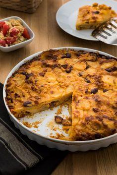 Bramborový koláč s chorizem a sýrem, Foto: FTV Prima