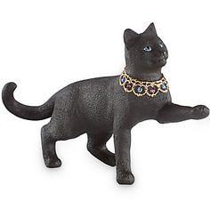 LENOX Figurines: Cats - Gemmed Sentinel of the Night Cat Figurine