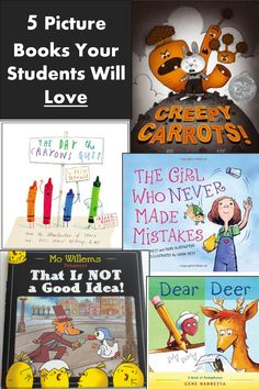 iHeartLiteracy: Five Great Picture Books Your Students Will Love
