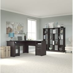 Found it at Wayfair - Hillsdale 2 Piece L-Shape Desk Office Suite