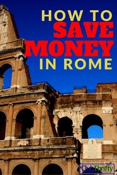 I& going to Rome and glad I found this. Great info on saving money and avoiding lines. Rome Travel, Europe Travel Guide, Budget Travel, Italy Travel, Travel Guides, Travel Tips, Travel Plan, Travel Goals, Greece Travel