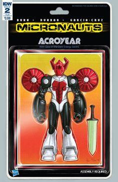Micronauts #1 Subscription Variant B Comic Book 2016 IDW