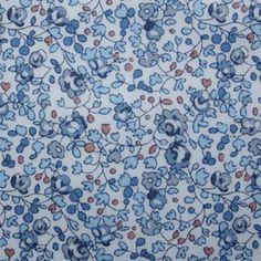 Tissu Liberty Eloïse bleu