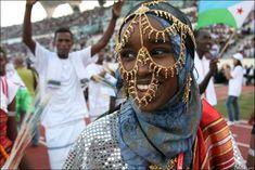 Djibouti traditional costume