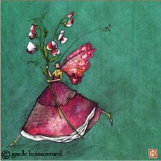 Gaelle Boissonnard: Sweat Pea - this one is a Fairy!