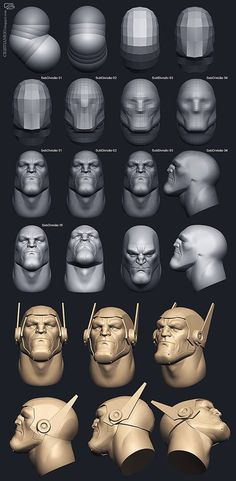 Zbrush Character, 3d Model Character, Character Modeling, Character Art, Zbrush Tutorial, 3d Tutorial, Sculpting Tutorials, Art Tutorials, Painting Tutorials