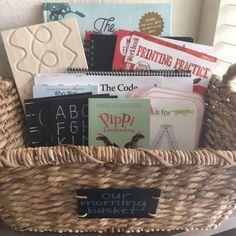 Our Homeschool Morning Basket – How We Do Preschool at Home