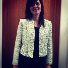 Pam loves her Alice + Olivia jacket from the #harveynichols sale #containyourself