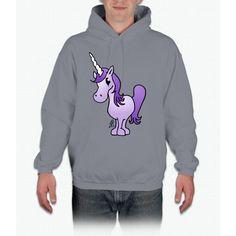 Purple Unicorn Hoodie