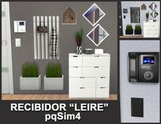 Sims 4 Updates: pqSims4 - Furniture, Hall : Leire hallway by Mary Jiménez, Custom Content Download!