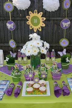 Purple Tinkerbell Party
