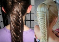 Pubic Hairstyles Mermaid French Braided Hairstyle For Medium Long Hair  Youtube