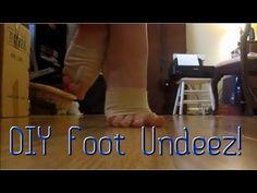 DIY Foot Undeez! - YouTube