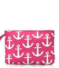 Large Anchor Print Cosmetic Bag $13.95 http://www.sparklyexpressions.com/#1019