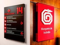 Sinalização Mendes Júnior | NewGreco Library Signage, Environmental Graphic Design, Environmental Graphics, Exhibition Stand Design, Exhibition Display, Wayfinding Signs, Sign System, Japanese Graphic Design, Signage Design