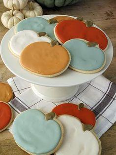 Heirloom pumpkin sugar cookies