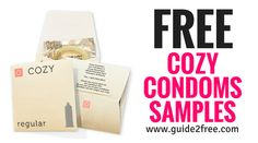 Get FREE Cozy Condoms Samples! Here's your chance to try Cozy condoms for free. Fill out the form to get a free sample pack of Cozy condoms. It'll arrive in 2 to 3 weeks. via @guide2free