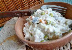 Šalát z kyslých rybičiek Mashed Potatoes, Ethnic Recipes, Food, Meal, Essen, Hoods, Meals, Shredded Potatoes, Eten