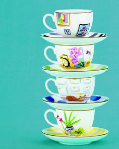 Illustrated china by Kate Spade New York