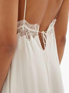 Cute Sleepwear, Satin Sleepwear, Nightwear, Loungewear, Silk Pijamas, Vintage Gowns, Little White Dresses, Lace Dress, White Silk Dress