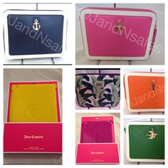 We have JUICY COUTURE iPad accessories!!!  Stores.ebay.com/John-and-Nancys-Sales