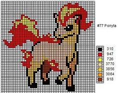 Crochet Fanatic: Pokemon 72-80: Tentacool, Tentacruel, Geodude, Graveler, Golem, Ponyta, Rapidash, Slowpoke, & Slowbro