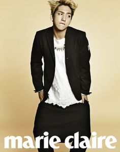 B1A4's Baro // Marie Claire // May 2013