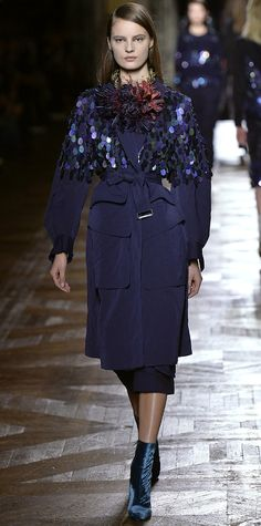 Runway Looks We Love: Dries Van Noten - Fall/Winter 2015 from InStyle.com