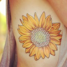 Flower of life sunflower