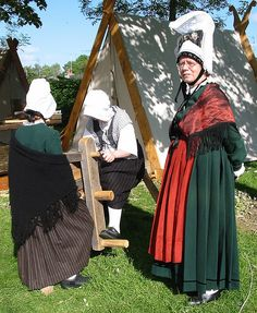 Normandy folk costume by Man vyi, via Flickr
