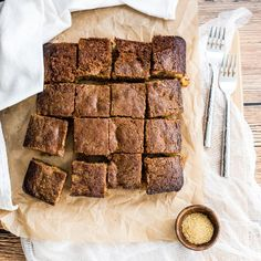 Spiced pineapple honey bars are the perfect fall sweet treat. They are loaded with warm fall spices, sweetened with honey, and loaded with pineapple!