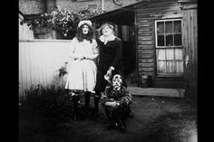 Anonymous Halloween photographs from c.1875–1955—truly haunting Americana, with a foreword by David Lynch. #want