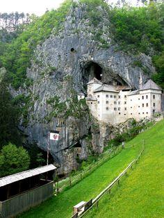Predjama Castle,south-central Slovenia: