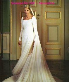 i love this wedding dress..princess Mette Marit of Denmark