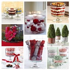 Trifle bowl Christmas ideas