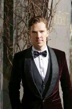 Benedict ~ love his coat