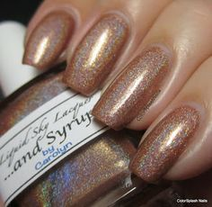 Liquid Sky Lacquer - ...and Syrup!