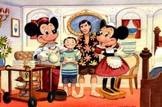 mickey and minnie at the resorts | Tokyo Disney Seas Concept Sketch
