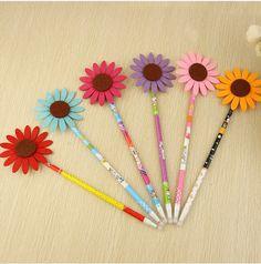premio di cancelleria penna personalizzata di girasole penna a sfera