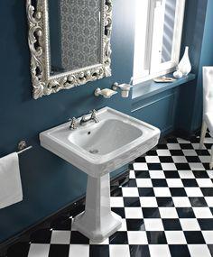 #Sbordoni #Neoclassica #Lavabo 69 cm con #colonna in #ceramica | #Ceramica | su #casaebagno.it a 546 Euro/set | #sanitari #arredo #bagno #arredamento #design
