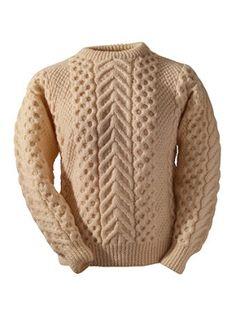 clan sweaters - irish wool sweaters at aransweatermarket.com - irish made sweaters made in the design of your clan - O'Rourke clan design