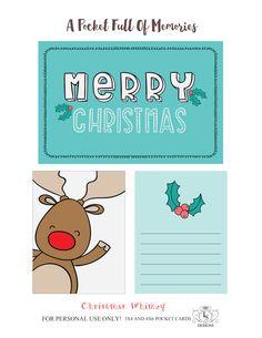 Free Christmas Printable - Scrapbook.com