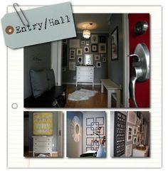 entry hall collage
