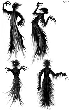 In the Dungeons & Dragons fantasy role-playing game, the shadow demon is a type … Shadow Creatures, Dark Creatures, Mythical Creatures Art, Fantasy Creatures, Shadow Tattoo, Shadow Drawing, Shadow Art, Demon Tattoo, Demon Drawings