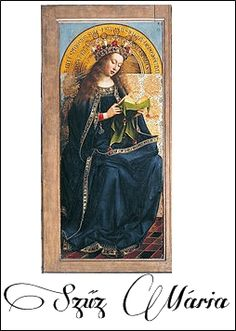 Genti oltár: Szűz Mária
